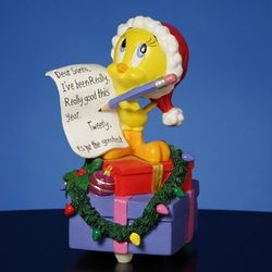 Tweety I've Been Really Really Good Musical Figurine