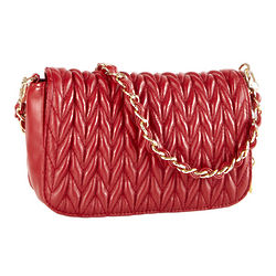 Big Buddha Ruby Flap Bag