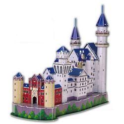 Neuschwanstein Castle 3D Jigsaw Puzzle