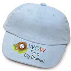 Wow! I'm a Big Brother Baseball Cap