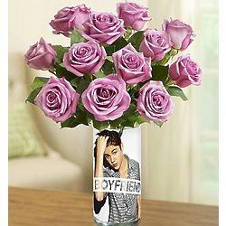 Justin Bieber Boyfriend Bouquet