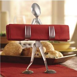 Forked Up Table Accessories Napkin Stand