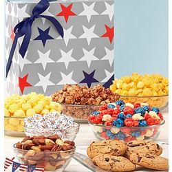 Patriotic Treat Sampler Gift Box