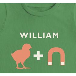 Personalized Chick Magnet Kid's Long Sleeve T-Shirt
