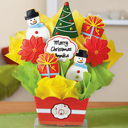My Holiday Cookie Bouquet