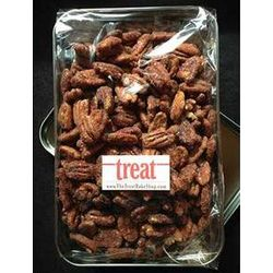 Spiced Pecans Gift Tin