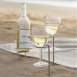 Wine Glass or Bottle Stick Holders