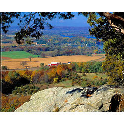 Gibraltar Rock Wisconsin Canvas Art Print