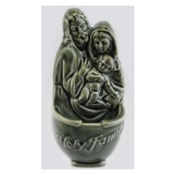 Holy Family Water Ceramic Font