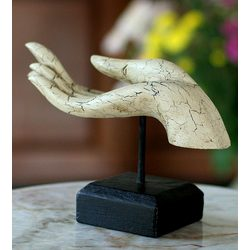 Buddha's Gift Wood Statuette
