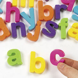 Colorful Magnetic Lowercase Letter Set