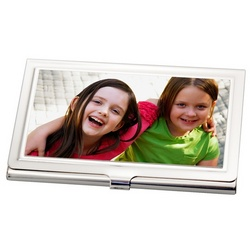 Design Your Own Photo Business Card Holder