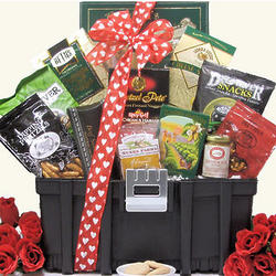 Want to 'Tool' Around Valentine's Day Snack Gift Basket