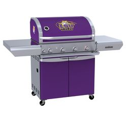 LSU Tigers Team Grill Patio Series MVP Gas Grill