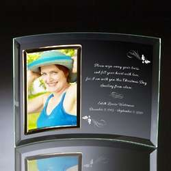 Personalized Memorial Christmas Photo Frame