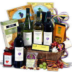 Cakebread Vineyard Tour Wine Basket
