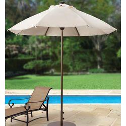 Remote Opening Solar Market Umbrella