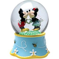 Mickey and Minnie Musical Snow Globe