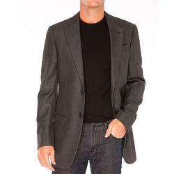 Armani Collezioni Grey Bamboo Jacket