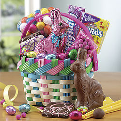 Easter Bunny Treasure Basket