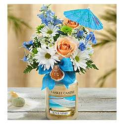 Sun and Sand Yankee Candle Floral Bouquet