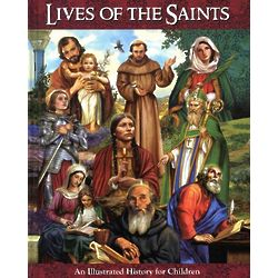 Lives of the Saints for Children Book