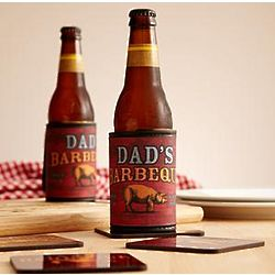 Personalized Smokin' Hot BBQ Coozie