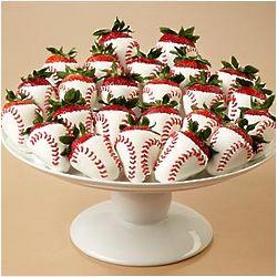 Hand-Dipped Home Run Strawberries