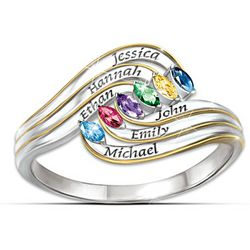 Personalized A Mother's Hug Ring