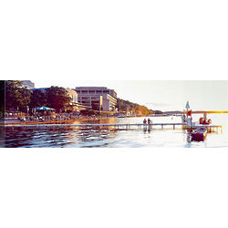 Madison Sunset Panorama Canvas Art