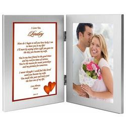 Personalized Poem for Wife in Double Frame