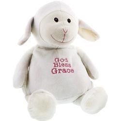 Personalized God Bless Lamb Buddy