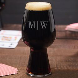 Quinton Personalized Spiegelau Stout Beer Glass