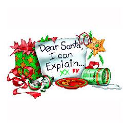 Santa I Can Explain T-Shirt