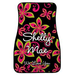 Hibiscus Personalized Car Mats