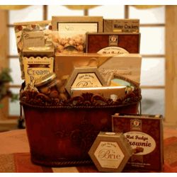 A Gourmet Encore Gift Basket