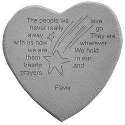People We Love Never Go Away Memory Stone
