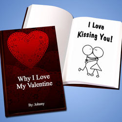 Personalized Valentine's Love Story Book