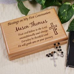Personalized Communion Valet Box