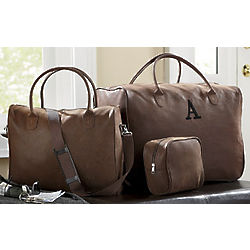 Microsuede Luggage 3-Piece Set