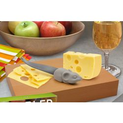 Nibbled Cheese Board and Mouse Knife
