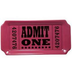 Admit One Ticket Valet
