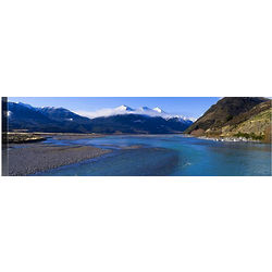 Waimakariri Valley Panorama Canvas Art