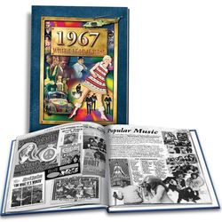 50th Anniversary or 50th Birthday Book for 1967