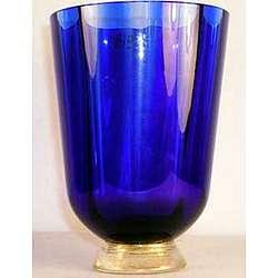 Nason and Moretti Large Blue Vase