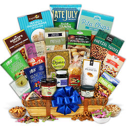 Deluxe Healthy Gift Basket