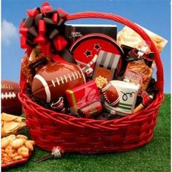 Football Fanatic Sports Gift Basket