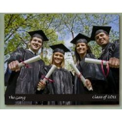 Personalized Graduation Photo Wall Canvas