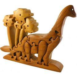 Diplodocus 3D Wooden Puzzle