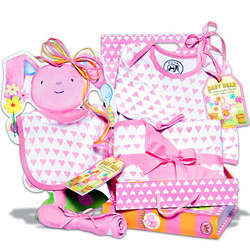 Baby Girl's Clothing Essentials Set